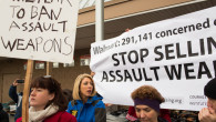 Gun Control Advocates Protest Outside Of Wal-Mart In Connecticut