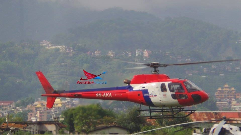 Fishtail Air 9N-AKA B3e- aviationnepal