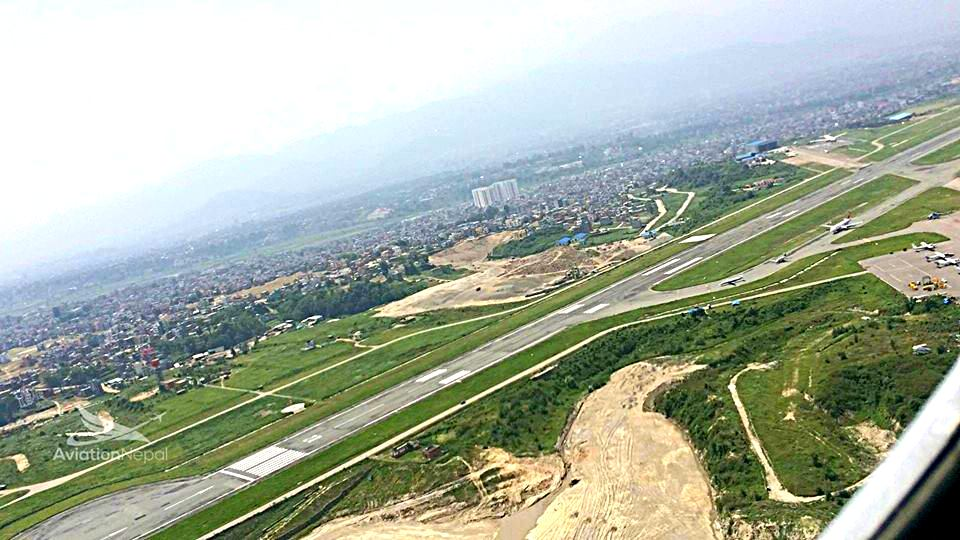 Aerial View of Runway of TIA