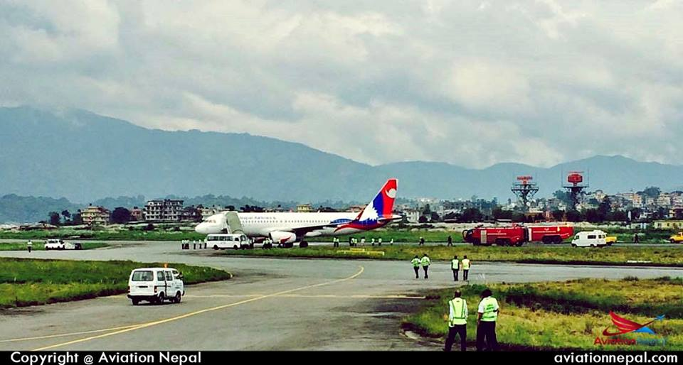 Nepal Airlines Both Airbus 320 233 Aircraft Resume Their Service
