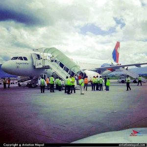 Nepal Airlines A320