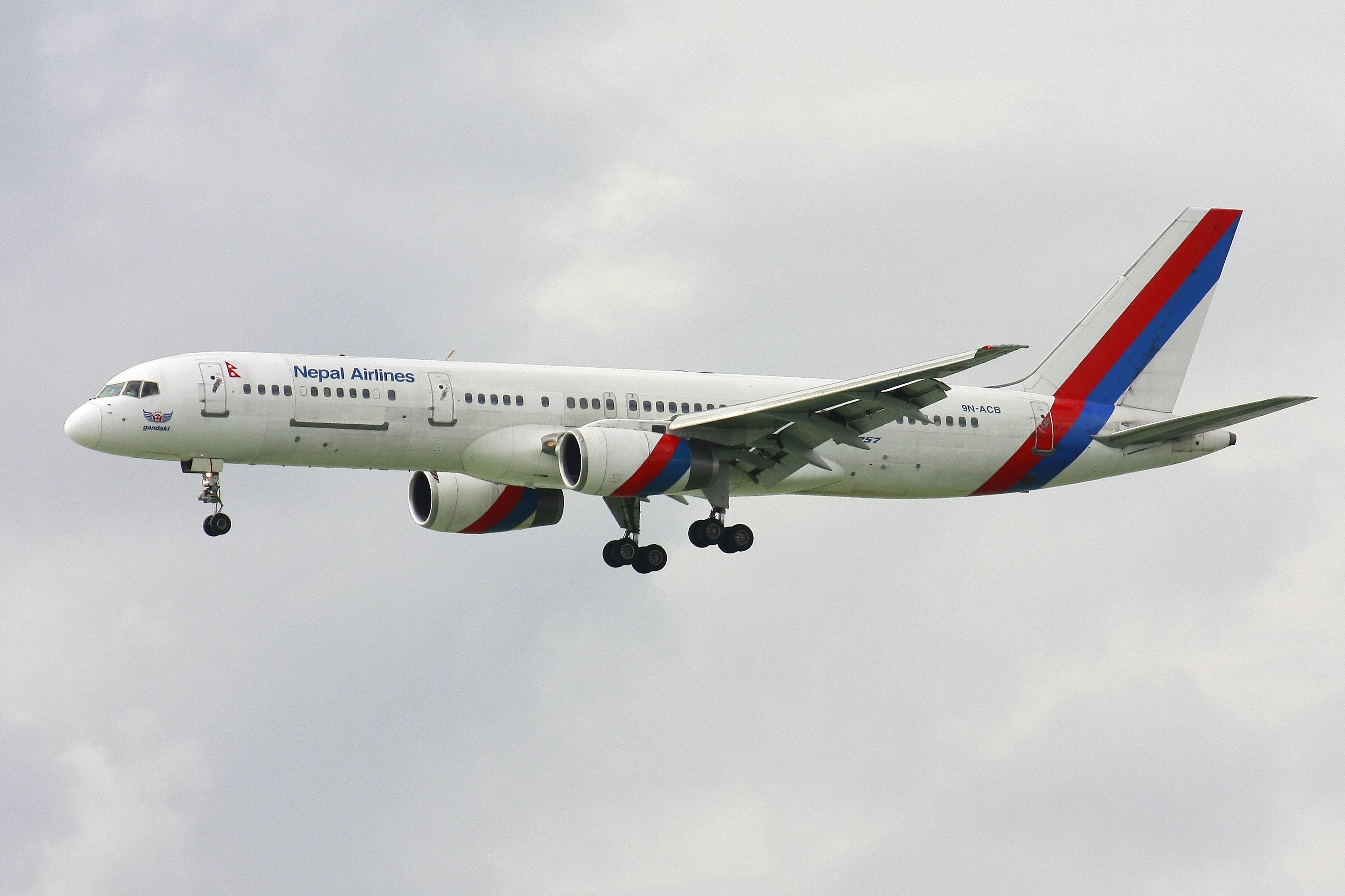 Nepal Airlines Boeing 757-aviationnepal.com