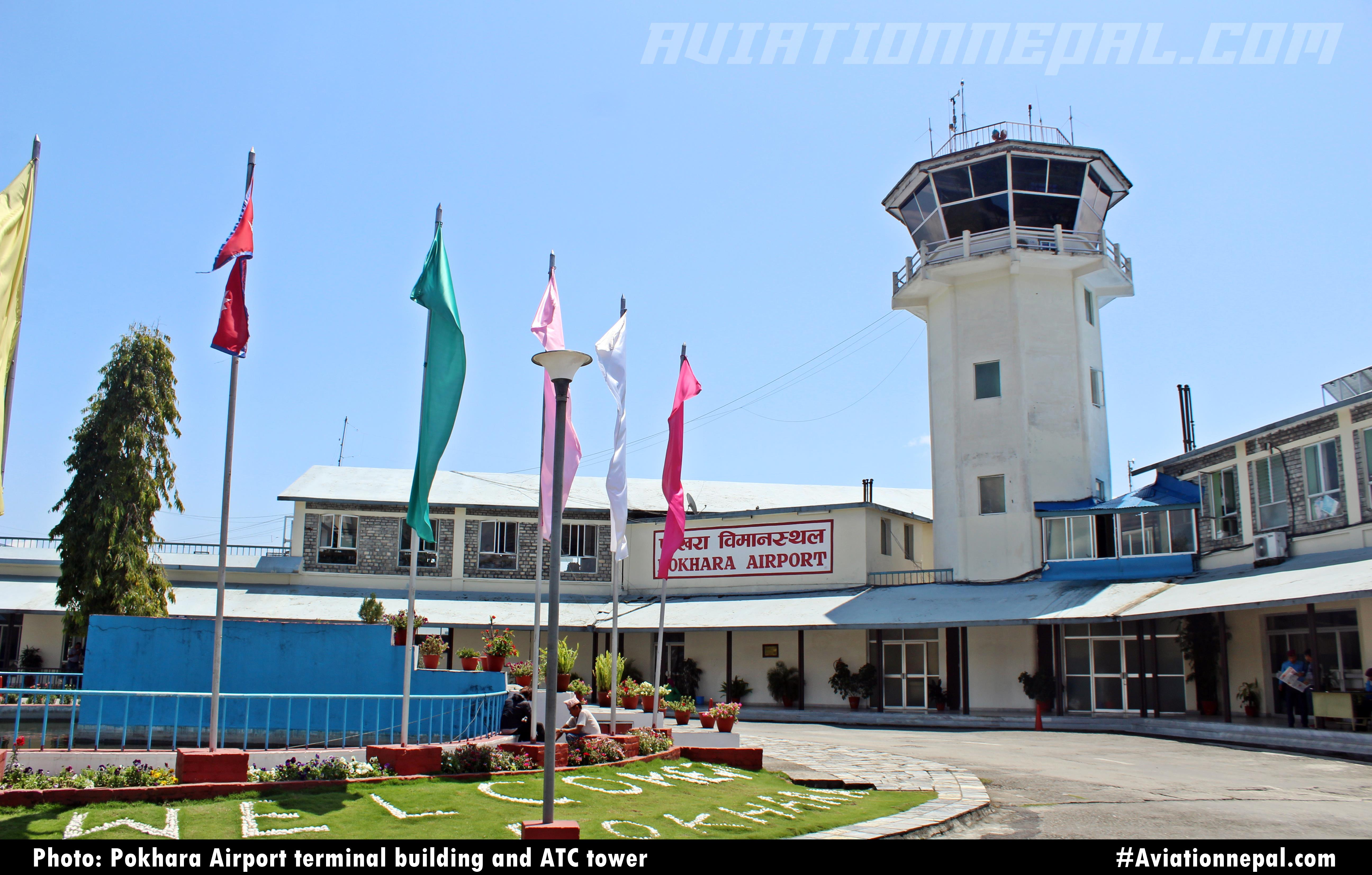 Airports of Nepal: Pokhara Domestic Airport with PHOTO